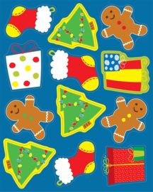 Kerstvakantie - 12 Stickers