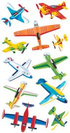 Klassieke Vliegtuigen -  11 Stickers