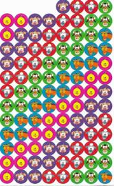 Vriendjes van de Boerderij - 100 Stickers