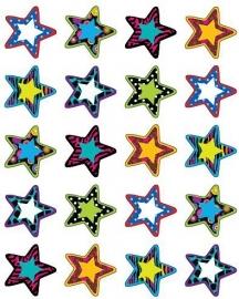 Bonte Sterren II - 20 Stickers