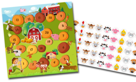 Beloningssysteem Boerderij met stickers - Complete Set