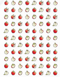 Mini Appels - 88 Stickers