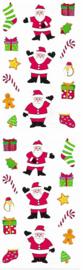 Vrolijke Kerst -  30 Stickers