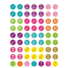 Planner Stickers Confetti Mini - 63 stickers