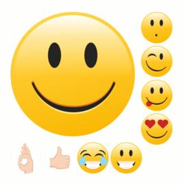 Beloningsstickers Emoji GoedZo! - 54 Stickers