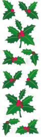 Kerst Hulst -  10 Stickers