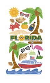 Florida stickers - 20 stickers