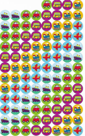 Transport Stickers - 100 Stickers