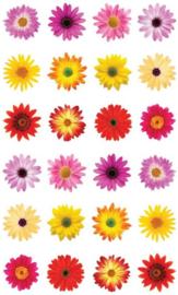 Flower Power - 24 Stickers