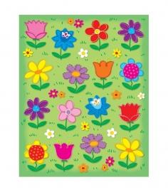Fleurige Bloemen - 16 st