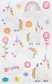 Unicorn Dreams - 17 Stickers