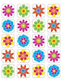 Bloemen - 20 Stickers