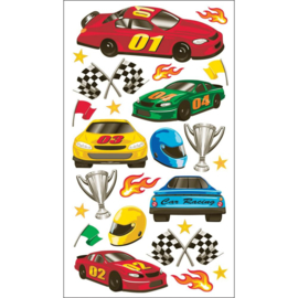 Race Race Race - 24 stickers