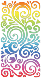 Rainbow Swirls - 50 Stickers