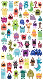 Monster Manie 2 - 60 stickers