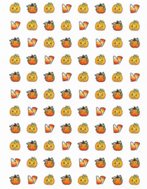 Halloween Mini - 88 Stickers
