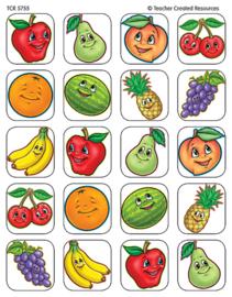 Heerlijk Fruit - 20 Stickers