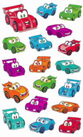 Car-Toons - 18 Stickers