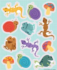 Kleine Kruipers Stickers - 12 Stickers