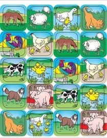 Kinderboerderij - 20 Stickers