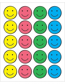 Blije Smileys - 20 Stickers