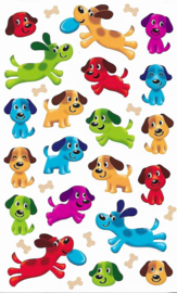 Puppy Plezier - 20 Stickers