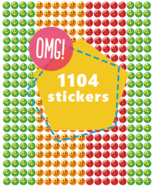 Smiley Stickers Stoplicht 10mm - 1104 Stickers