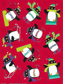 Toffe Pinguins - 10 stickers