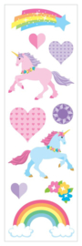Unicorn Love - 10 Stickers