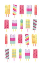 Waterijsjes - 20 Stickers