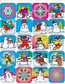 Winter  - 20 Stickers