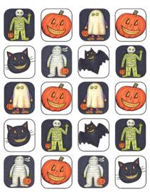 Halloween - 20 Stickers