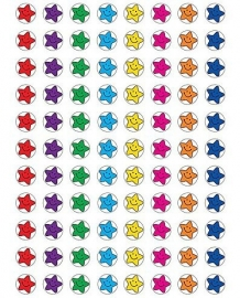 Mini Sterren Smiley - 88 Stickers