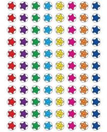 Mini Sterren Smiley - 88 Stickers