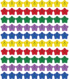 Smiling Stars Stickers - 90 stuks