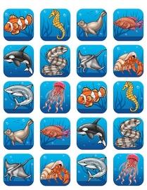 Allemaal Vissen - 20 Stickers