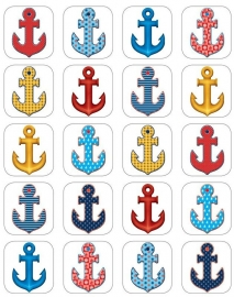 Ankers - 20 Stickers