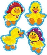Ducky Glitter - 20 stickers