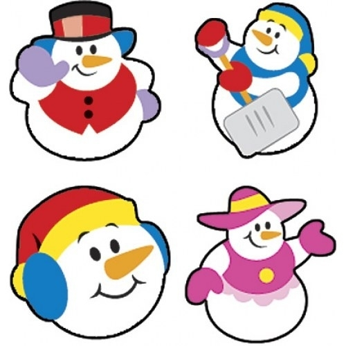 Sneeuwvriendjes - 100 Stickers