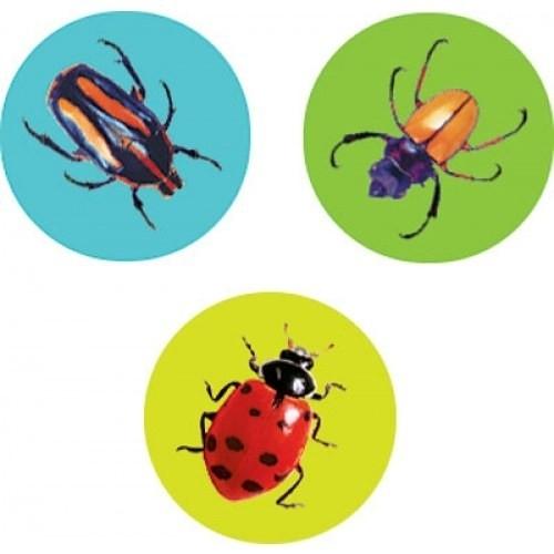 Drukke Insecten Stickers - 100 stickers