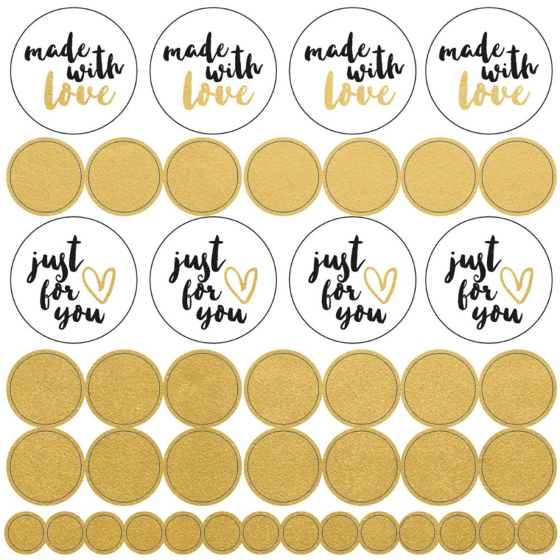 Made with Love Stickerset - 43 stickers