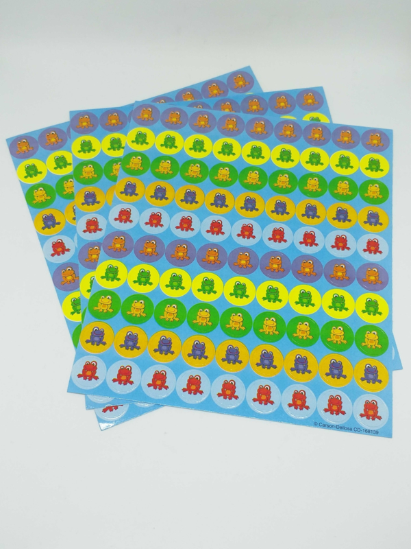 Crazy Kikkers - 90 stickers