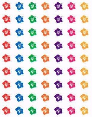 Mini Hibiscus - 63 Stickers