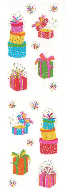 Allemaal Cadeautjes - 16 Stickers