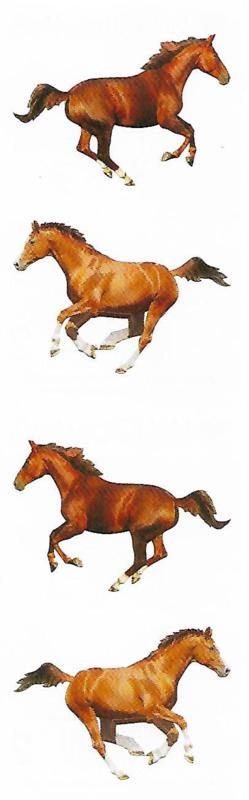 Paarden I - 4 Stickers