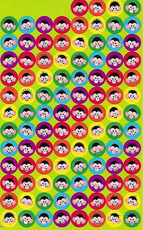 Aapjes - 100 Stickers