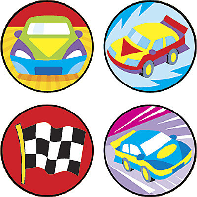 Super Speeders - 100 Stickers