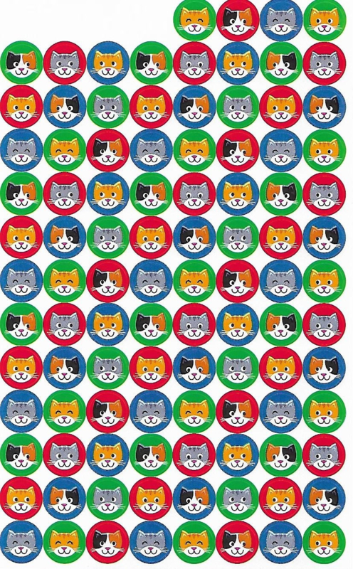 Poezenvriendjes - 100 Stickers