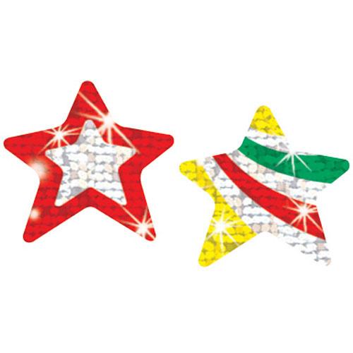 Twinkelsterren Glitter - 36 Stickers
