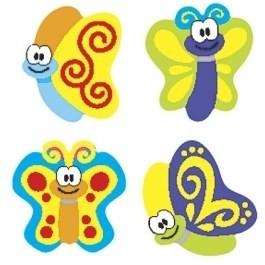 Prachtige Vlinders - 100 Stickers